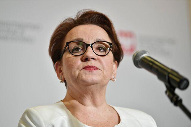 Minister Edukacji Narodowej Anna Zalewska.