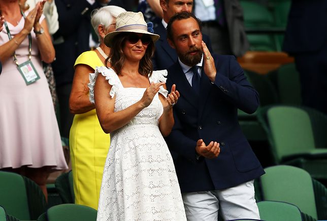 on day four of the Wimbledon Lawn Tennis Championships at All England Lawn Tennis and Croquet Club on July 5, 2018 in London, England.