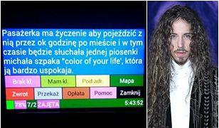 W Lublinie kobieta zamówiła taksówkę, by jeździć po mieście i słuchać... piosenki Michała Szpaka