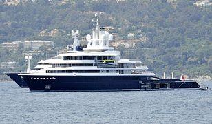 Luksusowy jacht Luna ma 115 metrów długości.