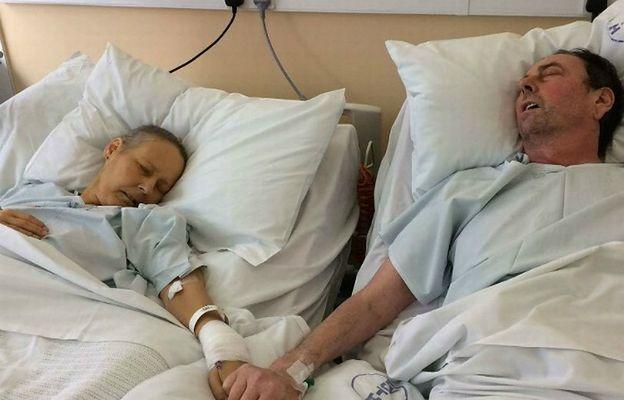 Niezwykłe zdjęcie umierającego małżeństwa. Odeszli w odstępie zaledwie 5 dni