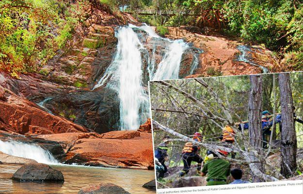 Tragiczny wypadek w wietnamskim kurorcie. Polski turysta spadł z wodospadu, wycieczkę organizowało nielegalnie działające biuro podróży