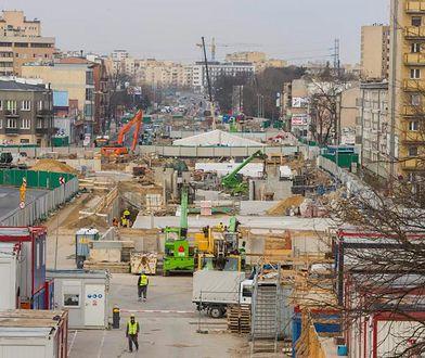 Warszawa. II linia metra na Bemowie na finiszu. Wraca ruch na skrzyżowanie Powstańców Śląskich-Górczewska