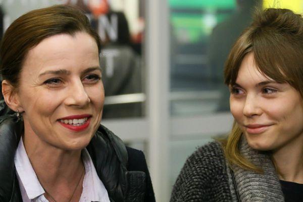 Kulesza i Trzebuchowska już w Polsce po gali Oscarów: ogromna radość