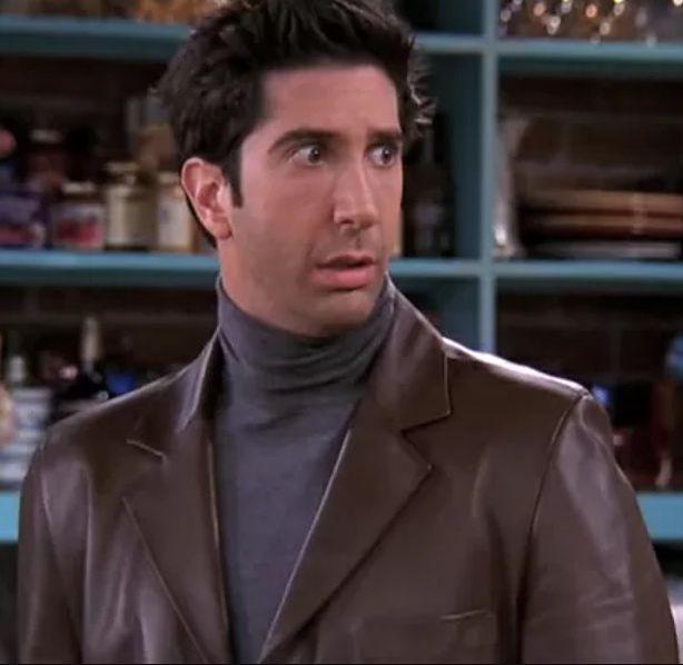 Ross Geller z ,,Friends''