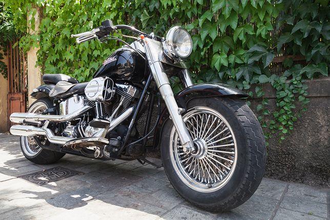 Harley Davidson. Zdjęcie ilustracyjne.