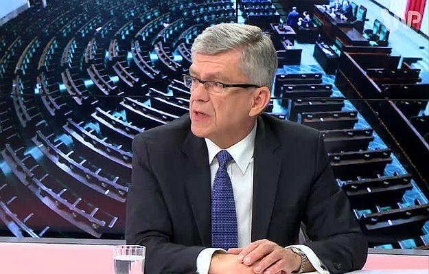 Audyt rządów PO-PSL. Karczewski: PO kłamała, że Polska była zieloną wyspą, a Donald Tusk kłamał mówiąc, że wprowadzi euro