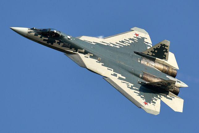 Rosja. Myśliwiec Su-57