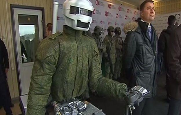 Rosyjska armia rekrutuje humanoidalne roboty