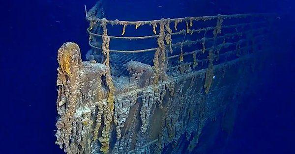 Titanic się rozpada. Wrak statku w coraz gorszym stanie