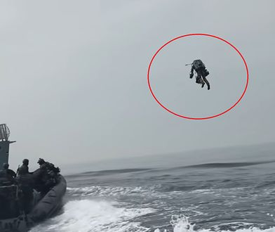 Kombinezon Iron Mana znów w akcji. Royal Marines testują rozwiązanie [Wideo]