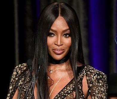 Naomi Campbell jest jedną z najbardziej rozpoznawalnych modelek