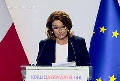 """Wyliczanka programowa Małgorzaty Kidawy-Błońskiej. """"O Boże, zapomniałam o in vitro"""""""