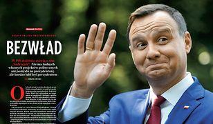 """Prezydent Andrzej Duda, fragment tekstu w """"Newsweeku"""""""