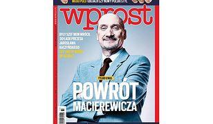 """Macierewicz powraca, uderzenie w Owsiaka i nowy """"Lepper"""". Okładki tygodników"""