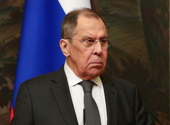 Siergiej Ławrow - minister spraw zagranicznych Federacji Rosyjskiej