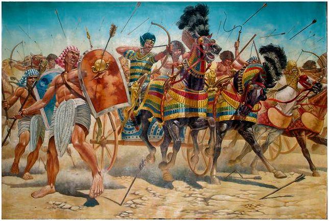 Hykosi, Asyryjczycy, Amazonki, Spartanie - to przed nimi drżał cały antyczny świat