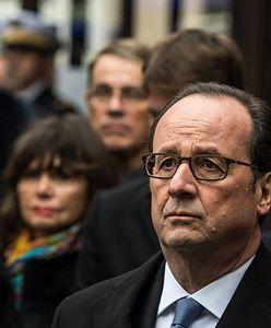 Prezydent Francji Francois Hollande oddał hołd ofiarom zamachów w Paryżu