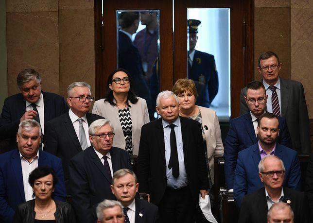 Jacek Sasin odniósł się do wyjścia Jarosława Kaczyńskiego ze szpitala
