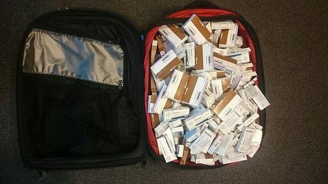 Turystka przemycała sterydy w walizce