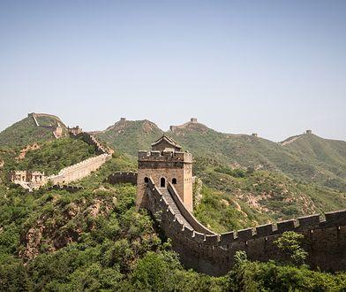 Wielki Mur nie jest jedną, ciągłą konstrukcją, ale składa się z różnych odcinków rozsianych na przestrzeni wielu kilometrów