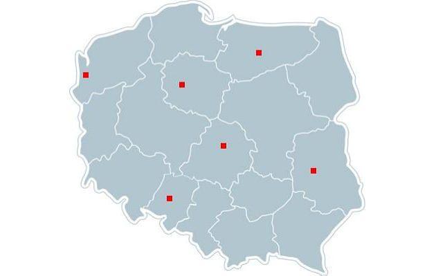 Nieprzyjazne polskie miasta