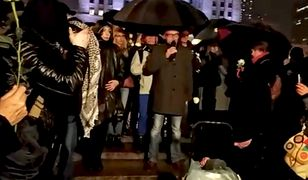 Protest Obywateli RP przed Sejmem