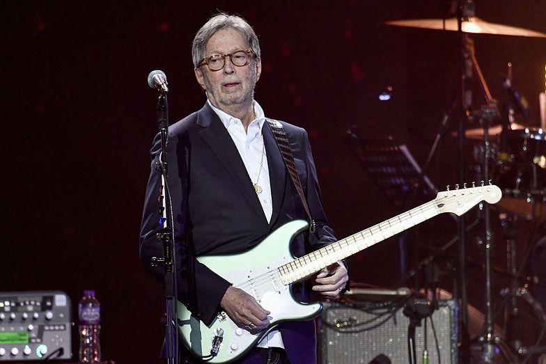 Koncerty tylko dla zaszczepionych? Eric Clapton podjął decyzję