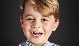 Książę George skończył cztery lata