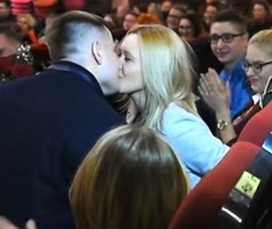 Para zaręczyła się w kinie Wilga w Garwolinie.