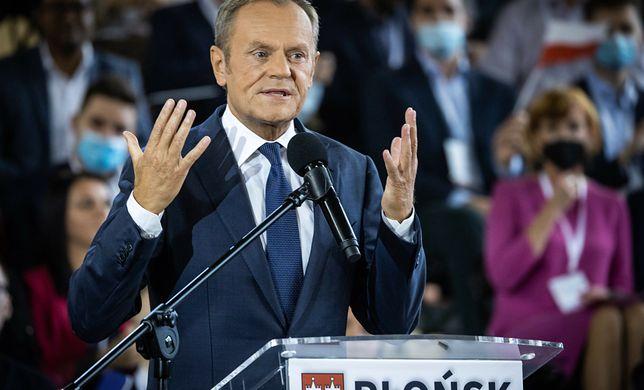 Donald Tusk. Krajowa Konwencja Platformy Obywatelskiej