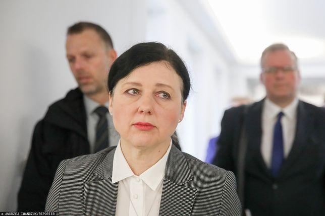"""Vera Jourova uderza w Polskę. PiS: """"Bezczelny atak"""""""