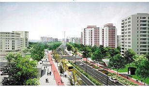 Metro na Bródno już w 2022 roku. Ulica Kondratowicza zmieni się w aleję [WIZUALIZACJE]