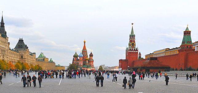 Miejsce 10. Plac Czerwony, Moskwa, Rosja