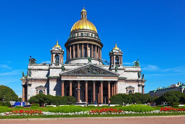 Wycieczka do Petersburga - Sobór Izaaka, Petersburg, Rosja