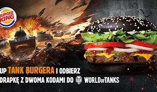 Tank Burger. World of Tanks i Burger King łączą siły i prezentują burgera dla czołgistów