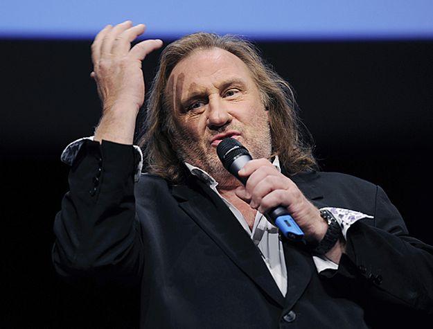 Gerard Depardieu ma pięcioletni zakaz wjazdu na Ukrainę