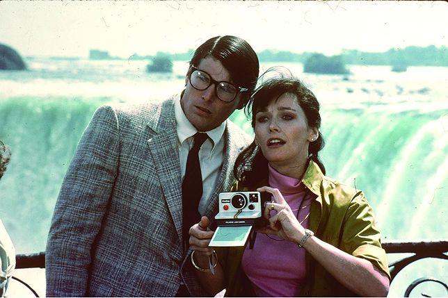 "Christopher Reeve i Margot Kidder w filmie ""Superman II"" (1980)"