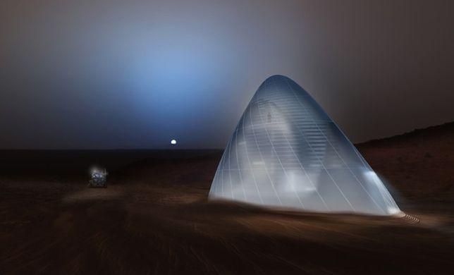 Czy tak będą wyglądać nasze domy na Marsie?