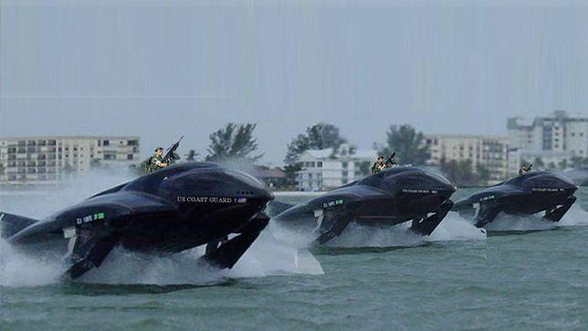 Sea Phantom - niesamowity pojazd. Cena motorówki, osiągi helikoptera