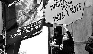 """""""Nie twoja broszka!"""" - tak wyglądał Czarny Poniedziałek w Gdańsku [ZDJĘCIA]"""