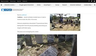 """Fałszywa informacja o """"zdewastowaniu cmentarza w Świdnicy"""""""