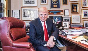 W jaskini Donalda Trumpa. Co znajdziemy w jego gabinecie?
