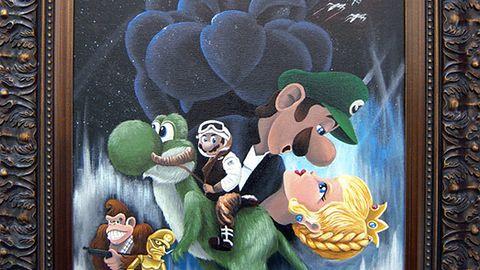 Star Wars x Mario Bros.