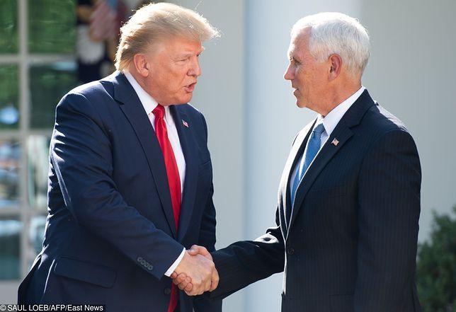 1 września zamiast Donalda Trumpa w Polsce będzie Mike Pence