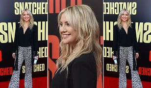 LOOK OF THE DAY: Kate Hudson stawia na wzór