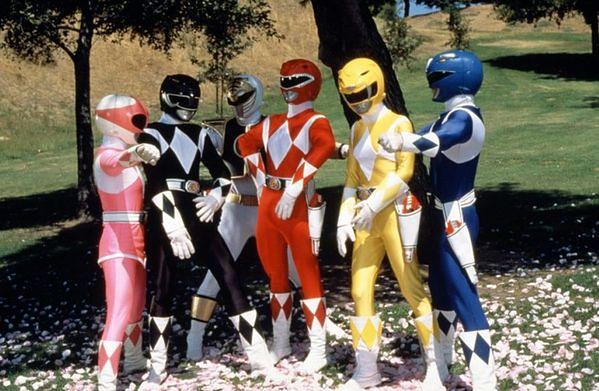 "Nowi ""Power Rangers"""