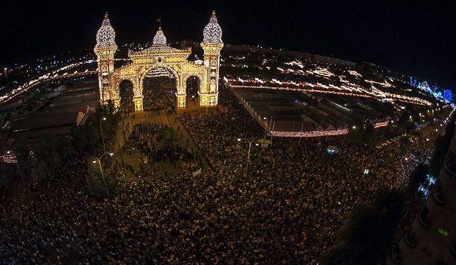 Hiszpania - Feria de Abril w Sewilli