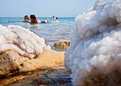 Ein Gedi - kibuc nad brzegiem Morza Martwego