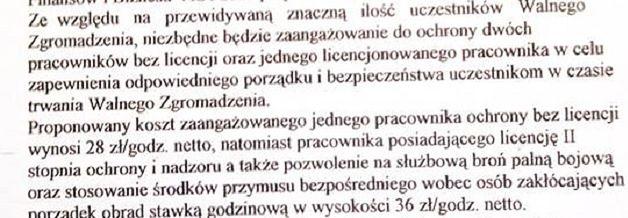 Tajniacy i ochroniarze uzbrojeni w broń palną. Tak spółdzielnia w Warszawie chciała bronić się przed mieszkańcami.